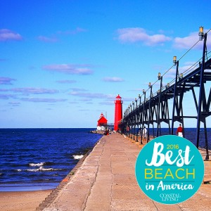 Best Beach in America - Grand Haven, Michigan