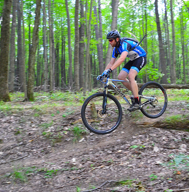 Mountain Biking in Grand Haven. Photo Courtesy of Rock 'N' Road