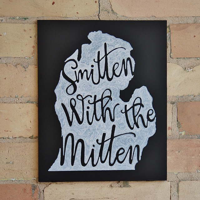 Smitten with the Mitten by I Do Signs