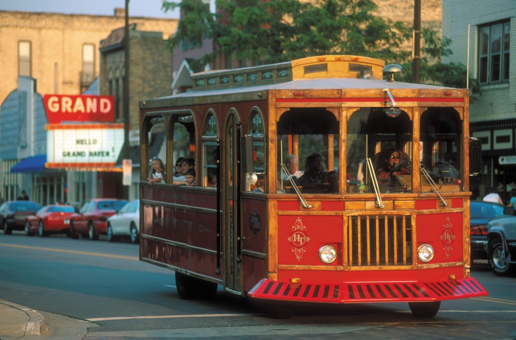 Grand Haven Trolley. Photo Credit: Ed Post