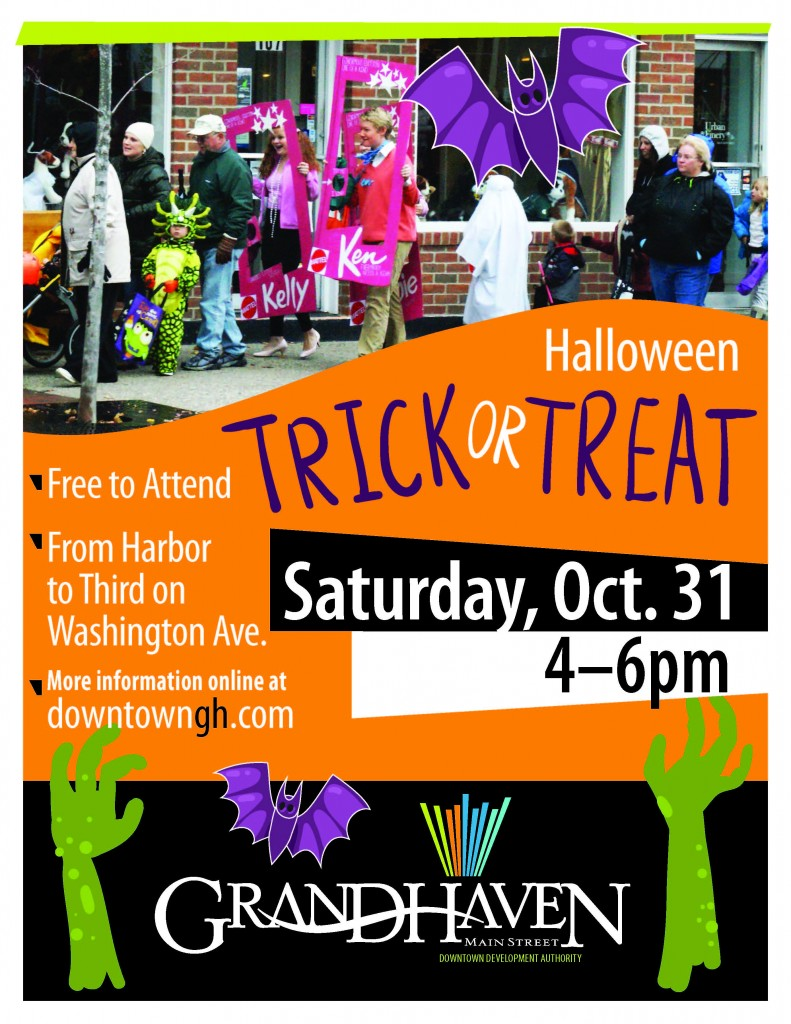 Downtown Grand Haven - Halloween Trick or Treat