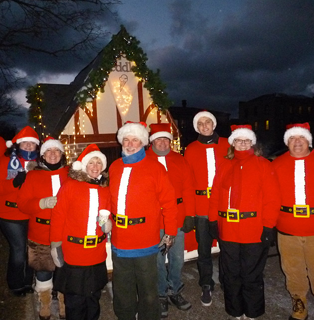 Grand Haven Jingle Bell Parade - Photo Courtesy of the Grand Haven Chamber