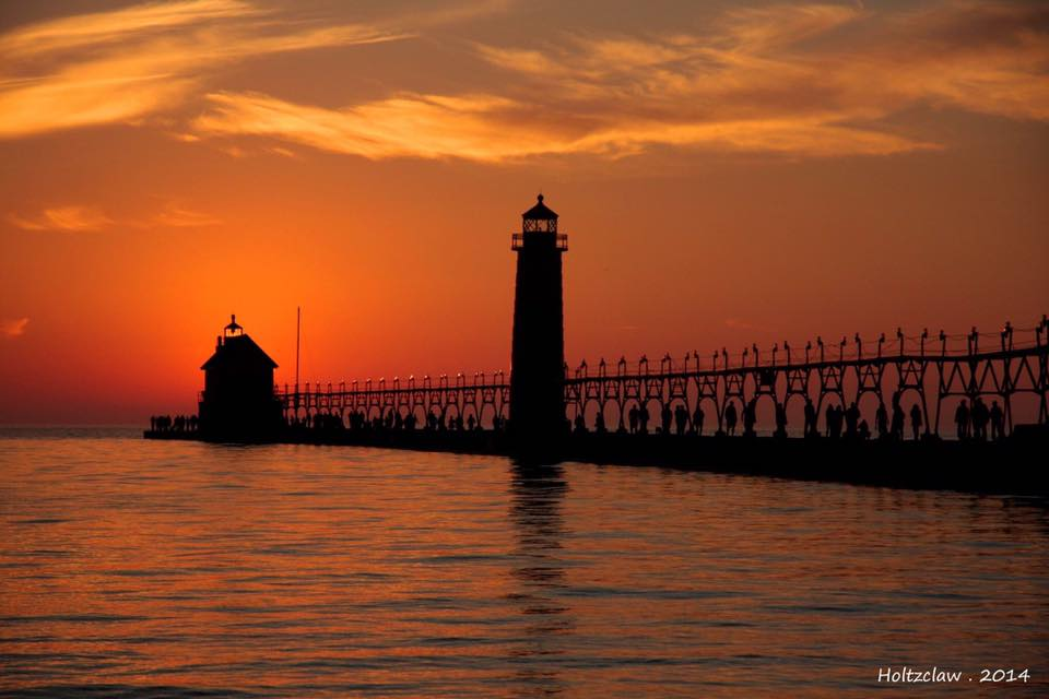 Grand Haven Lighthouse - Grand Haven, Michigan. Photo: Colin Holtzclaw