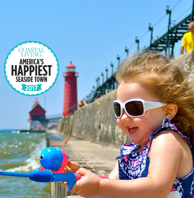 Coastal Living Happiest Seaside Town in America - Grand Haven, Michigan. Photo: Tototoo Photo