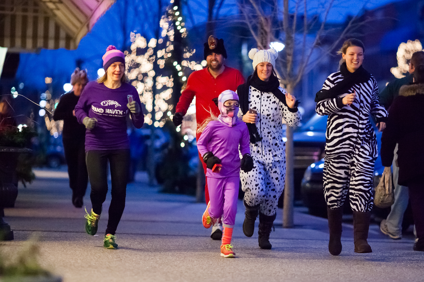 Grand Haven Winterfest Sleepwalker Run - Photo: Randy Riksen Photography