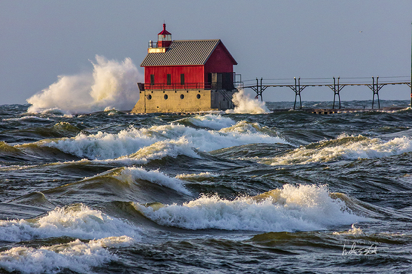 Grand Haven, Michigan - Credit: Walter E. Elliott