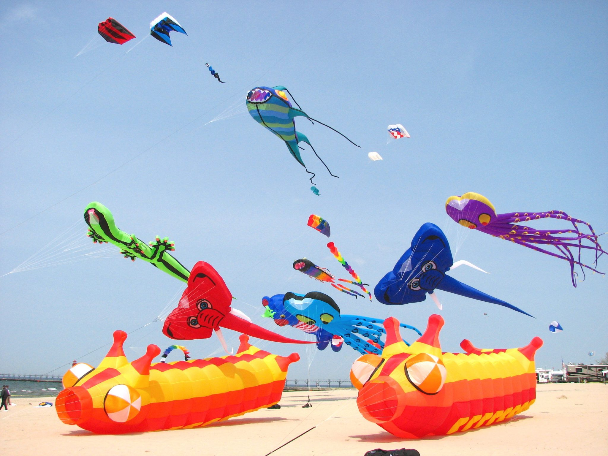 Great Lakes Kite Festival - Photo courtesy of MACkite