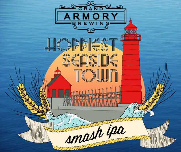 Grand Armory Brewing - Hoppiest Seaside Town Smash IPA