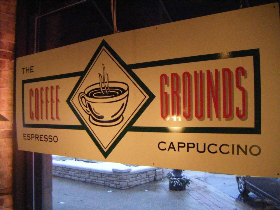 The Coffee Grounds Grand Haven, Michigan. Photo via Facebook
