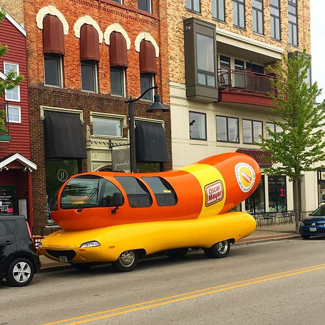 Oscar Mayer Wienermobile - Grand Haven, Michigan