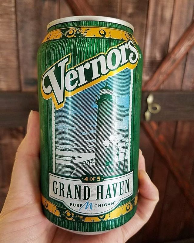 Grand Haven Lighthouse Vernors Can- Photo Credit: Beth Mallo