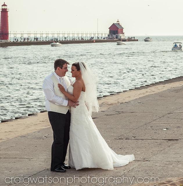 Grand Haven Pier Wedding Craig Watson Photography Photo Courtesy Of Holiday Inn