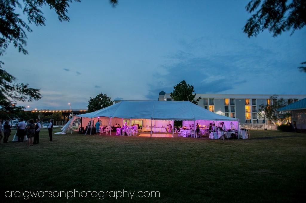 Holiday Inn Spring Lake Tented Wedding Craig Watson Photography Photo Courtesy Of